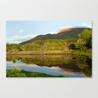 Reflections On Loch Etiv… Canvas Print