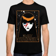 Emily Stardust SMALL Black Mens Fitted Tee