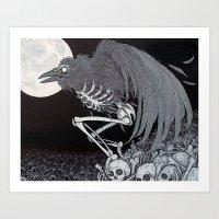 Angel Of Death Art Print