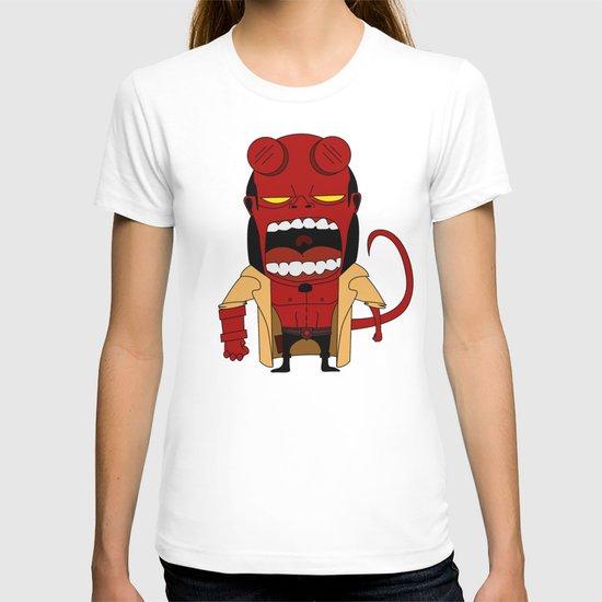Screaming Helldude T-shirt