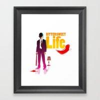 Bittersweet Life Framed Art Print