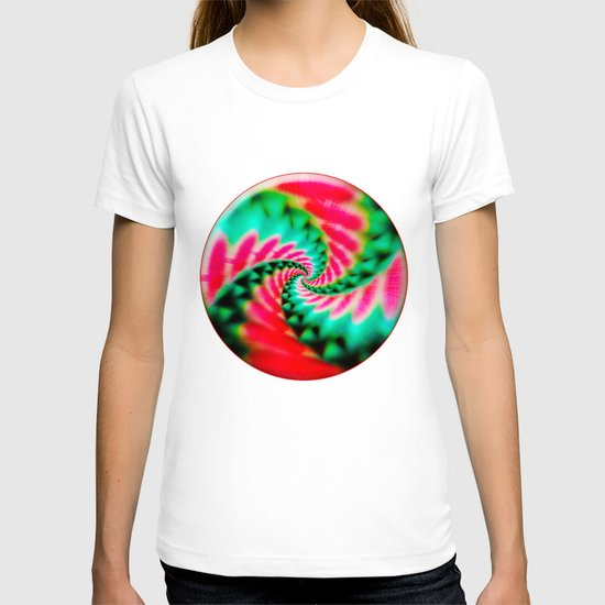Cosmic Watermelon Swirl T-shirt