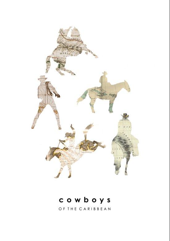 Cowboys of the Caribbean Art Print