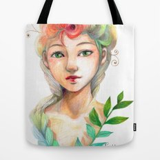 Goddess of  Spring Tote Bag