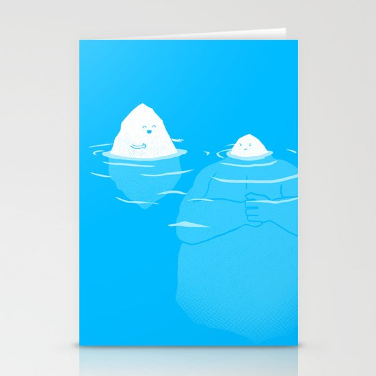 The Tip Of The Iceberg Stationery Card