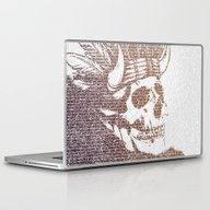 Laptop & iPad Skin featuring The Warrior by Paula Belle Flores