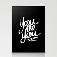 You Are You Stationery Cards