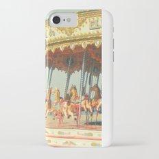 Seaside Carousel iPhone 7 Slim Case
