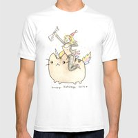 Merry XMas Master Magics… Mens Fitted Tee White SMALL