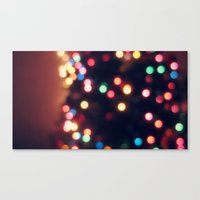 Merry Little Christmas Canvas Print