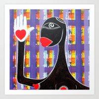 MAMMA AFRICA-CUORE IN MANO Art Print