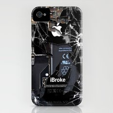 Broken, Rupture, Damaged… iPhone (4, 4s) Slim Case
