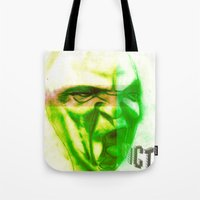 Acid Face Tote Bag