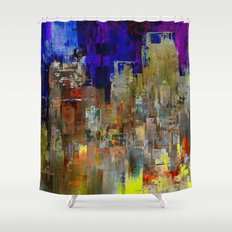Let's Keep Smiling Shower Curtain