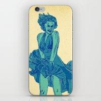 - summer marilyn - iPhone & iPod Skin