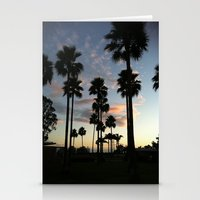 santa barbara sky Stationery Cards