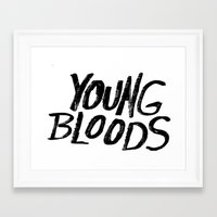 Young Bloods Framed Art Print