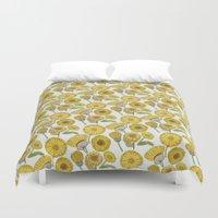 Calendula Florals Duvet Cover