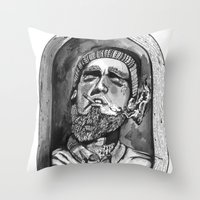 Where The Forrest Meets … Throw Pillow