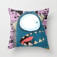 The Horror Of It All BYR… Throw Pillow