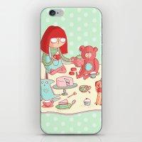 Tea party! iPhone & iPod Skin