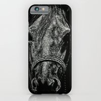 iPhone & iPod Case featuring The Pale Horse by Nathan Cole
