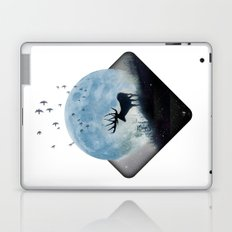 blue moon spill Laptop & iPad Skin