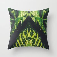 50 Shades of Green (5) Throw Pillow