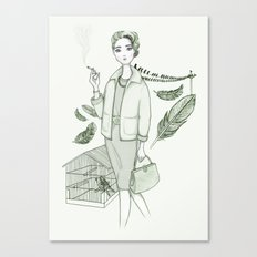 The Birds - Movies & Outfits Canvas Print