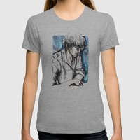 Boy Womens Fitted Tee Athletic Grey SMALL