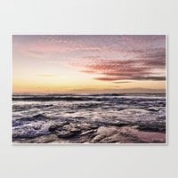 When The Light Is Just R… Canvas Print