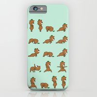 Yoga Bear iPhone 6 Slim Case