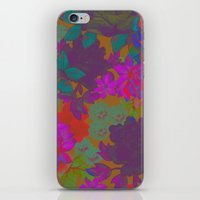 Retro Floral iPhone & iPod Skin