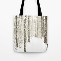 Wintry Mix Tote Bag