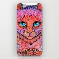 SUNSET CAT iPhone & iPod Skin