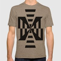 The Way Mens Fitted Tee Tri-Coffee SMALL