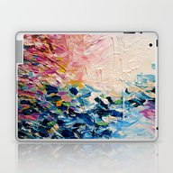 Laptop & iPad Skin featuring PARADISE DREAMING Colorf… by EbiEmporium