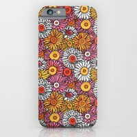 Daisy Pattern iPhone 6 Slim Case