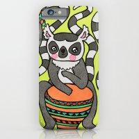 Dancing Lemurs iPhone 6 Slim Case