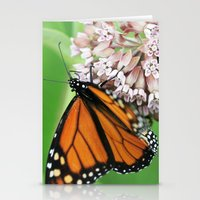Monarch Butterfly Stationery Cards
