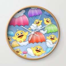In Coming Birdies.  Wall Clock
