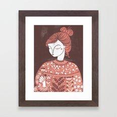 The Botanist Framed Art Print