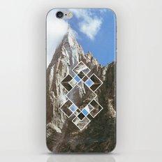 Fractured peak iPhone & iPod Skin
