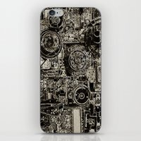 Electric Maze iPhone & iPod Skin
