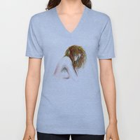 Hidden girl Unisex V-Neck