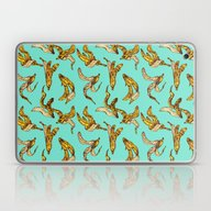 Banana Peel Pattern Laptop & iPad Skin