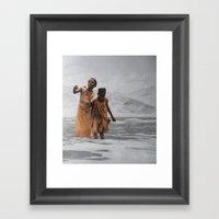 Collage 20 Framed Art Print