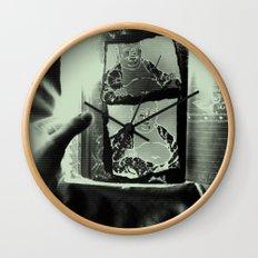 Tickling Buddha Wall Clock