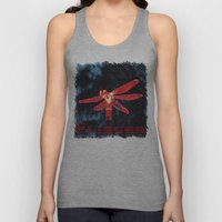 Night flyer Unisex Tank Top