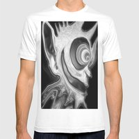 The Torch Mens Fitted Tee White SMALL